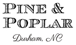 Pine & Poplar Event Venue Logo